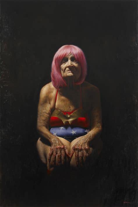 obscure pensioner paintings  jason bard yarmosky freeyork