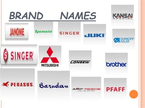 Sewing Machine Brands  Best Sewing Machine