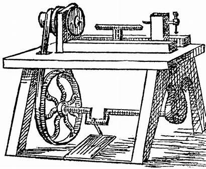 Clipart Lathe Wood Woodturning Machine Metal Tool