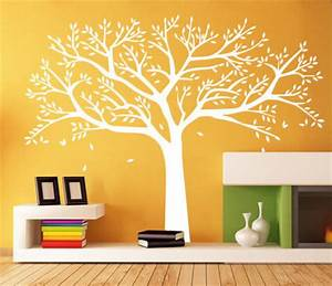 white tree wall decal for nursery vinyl wall sicker With nice tree decals for walls cheap