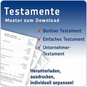 Vorsorgevollmacht Ohne Notar Gültig : testament vorlagen kostenlose testament muster ~ Orissabook.com Haus und Dekorationen