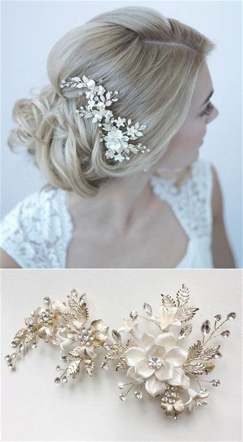 25 Best Ideas About Bridal Hair Accessories On Pinterest