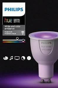 Hue Gu10 Color : philips hue white and colour ambiance extension bulb gu10 walmart canada ~ Eleganceandgraceweddings.com Haus und Dekorationen