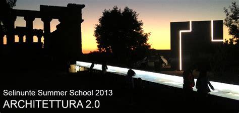 Luce E Architettura Selinunte Summer School 2013