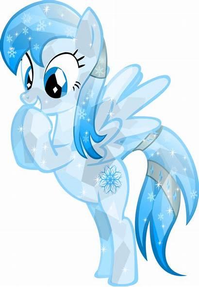 Pony Crystal Ponies Frozen Snowflake Friendship Magic