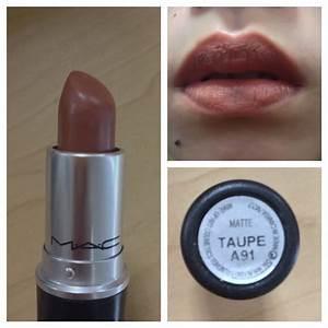 Mac Matte Taupe   Matte Lipstick   Pinterest   Matte lipsticks