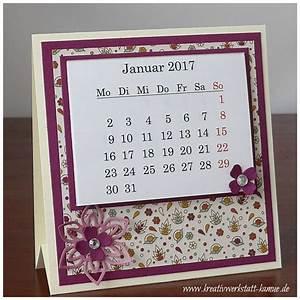 Mini Kalender 2015 : aufstell mini kalender kreativwerkstatt ~ Watch28wear.com Haus und Dekorationen
