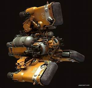 Paul Pepera | Spaceships | Pinterest