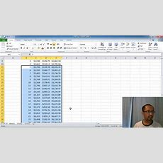 Microsoft Excel Lesson 2  Compound Interest Calculator