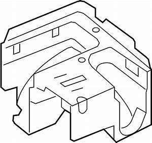 Volkswagen Eos Bracket  Fuse Box  Bracket
