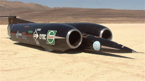 jet engine powered supercar hits 714mph in black rock desert