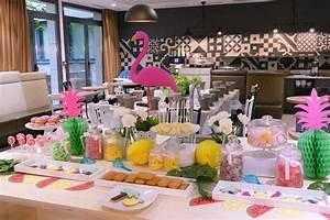 Deco Table Tropical : afterwork clients tropicool pour adagio studio candy ~ Teatrodelosmanantiales.com Idées de Décoration