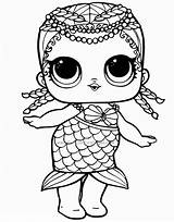 Lol Coloring Dolls Pages Surprise Series sketch template