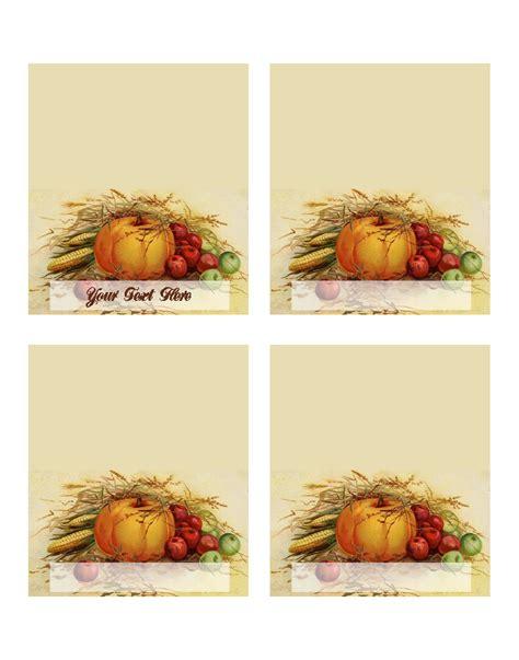 template thanksgiving place cards mxmixe