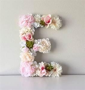 floral letter 19 24 flower letter nursery With fresh flower letters