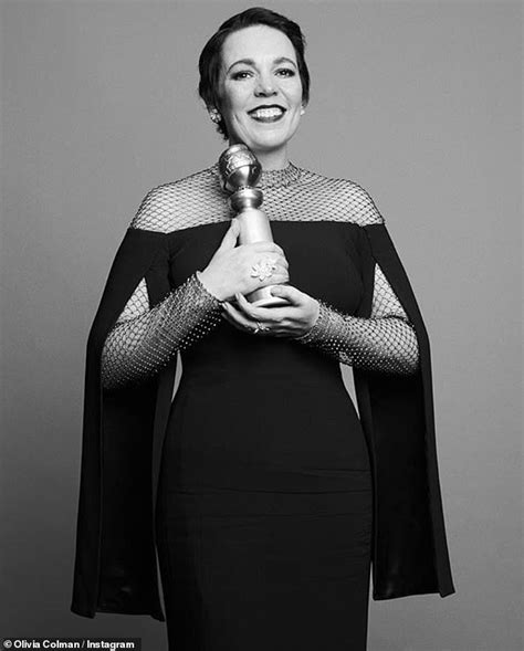 Olivia Colman Has Stopped Going Out She Intimidated