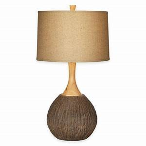 Buy natural lighting lamps from bed bath beyond for Etagere floor lamp bed bath and beyond