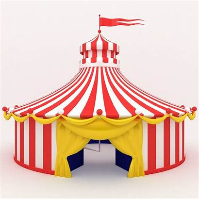 Circus Tent 3d Clipart Circustent Party Clip