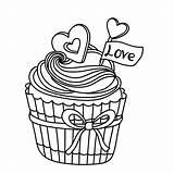 Cupcakes Cupcake Kleurplaat Kleurplaten Coloring Muffin Kleurplatenpagina Volwassenen Maak Eigen Dessin Ausmalbilder Tekening Persoonlijke Desenhos Boordevol Coloriage Leukvoorkids Colorir Glace sketch template