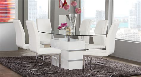 tria white  pc rectangle dining room dining room sets colors