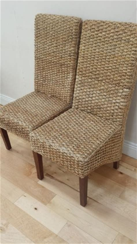 2 banana leaf rattan chairs for sale in bray wicklow from