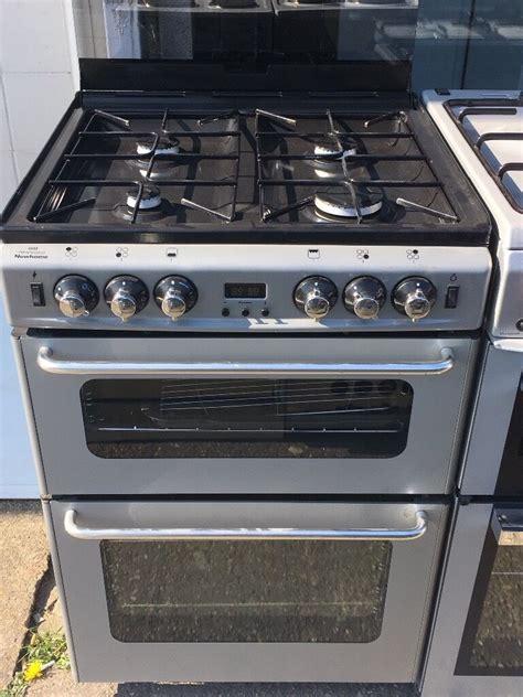 stoves cm wide  gas cooker  siliver  lid