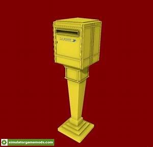 Boites Aux Lettres La Poste : fs15 boite aux lettres la poste v1 0 simulator games ~ Dailycaller-alerts.com Idées de Décoration