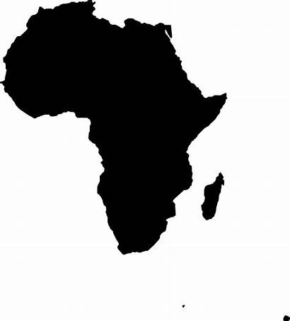 Africa Outline Map Clipart Clip