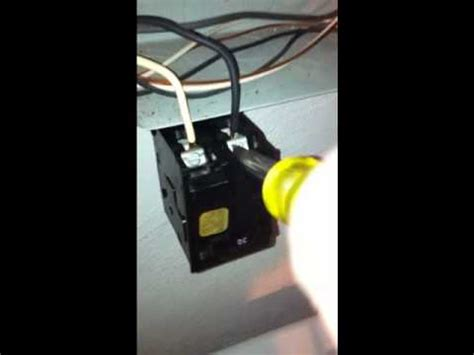 dryer outlet  amp breaker replaced part  youtube