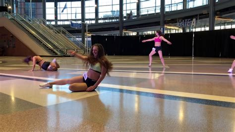 detroit lions cheerleaders auditions group  youtube