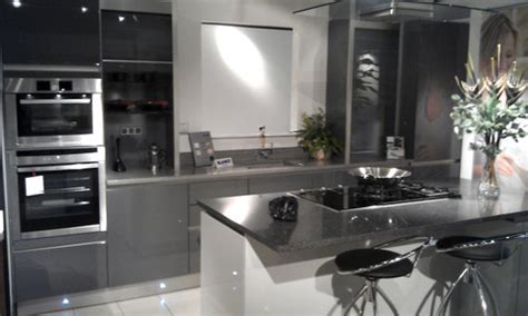 Ex Display Schuller Nextline Gloss Lacquer Anthracite and