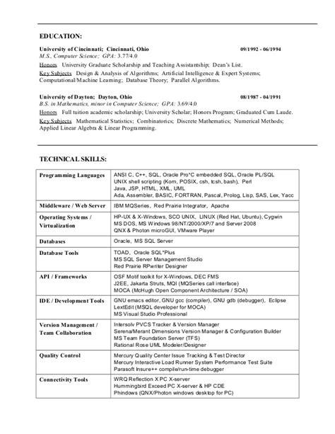 CMK resume