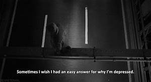 Sad Black And White GIF - Find & Share on GIPHY