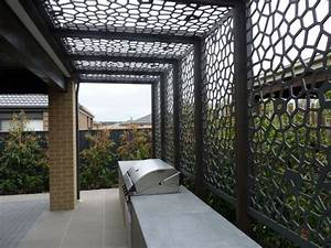 Les 25 meilleures idees de la categorie clotures for Maison avec jardin interieur 18 panneau occultant et clature brise vue en metal en 65 idees