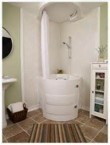 Space Saver Bath Shower by This Soaking Tub With Shower Is A Walk In Bathtub Designed