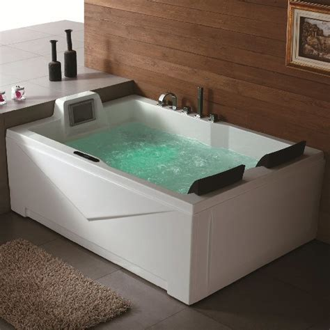 two person whirlpool aquapeutics putnam whirlpool tub modern bathtubs by