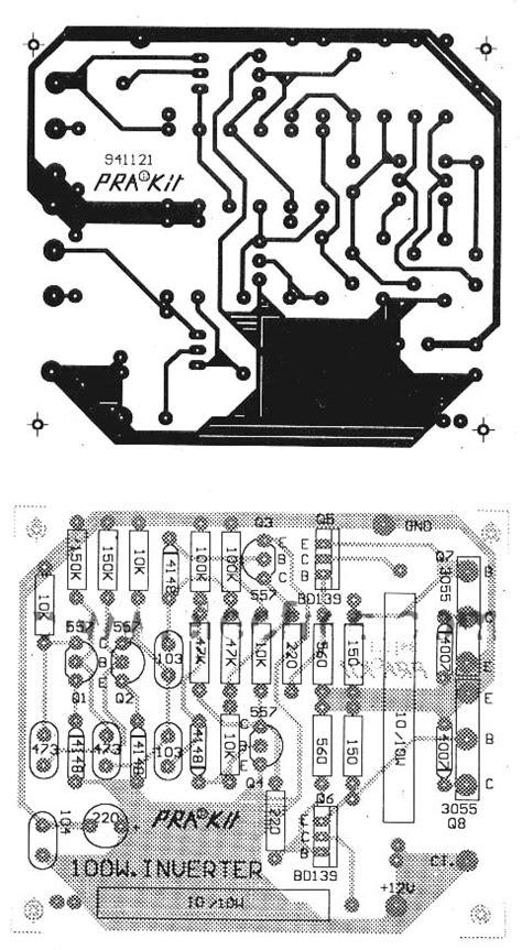 transistoerlue inverter devresi   velektronik