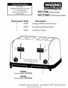 Waring Wct708