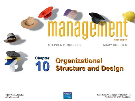 chapter 10 organizational structure and design ppt10