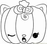 Coloring Paula Pumpkin Num Noms Pages Coloringpages101 sketch template