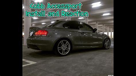 bmw  cobb accessport install  reaction youtube