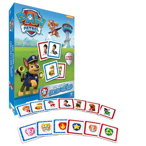 jeux de la pat patrouille paw patrol 6026134 memo la pat patrouille fr jeux et jouets