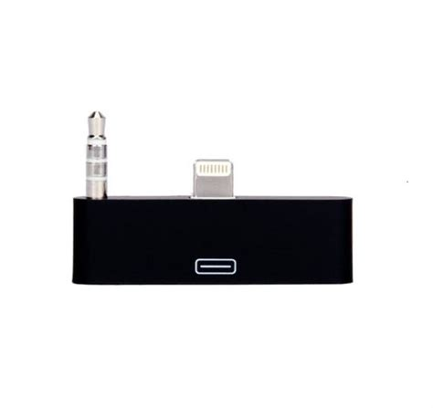 ihome adapter for iphone 6 30 pin to 8 pin 3 5mm audio adapter converter for iphone 5