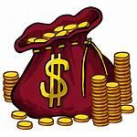 Gold Clipart Cartoon Money Coins Library Clip