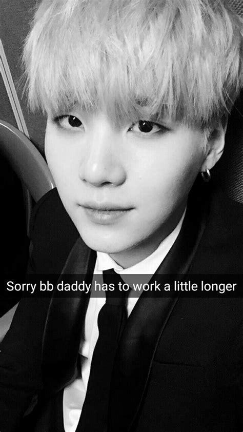 suga wanting   called daddy kpop snaps
