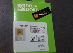 Delta Dore Tybox 117 : instalaciones y venta termostato programable delta dore ~ Melissatoandfro.com Idées de Décoration