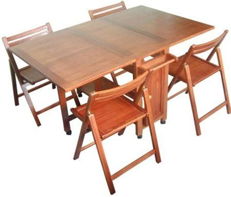 Hideaway Table And Chairs Set by Vifah V61 Indoor Antique Hideaway Table And Chairs Dining