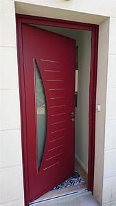 Devis Porte D Entrée : porte d 39 entr e aluminium mod le levant d clic menuiserie ~ Melissatoandfro.com Idées de Décoration