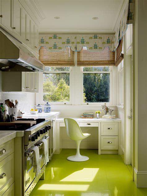 painted kitchen floor colors to paint a kitchen to make the room beautiful 1383