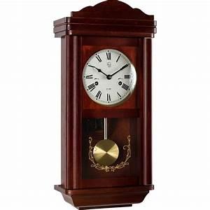 Wanduhr Mit Pendel : wanduhr pendeluhr uhr regulator im mahagoni stil pendel ebay ~ Watch28wear.com Haus und Dekorationen
